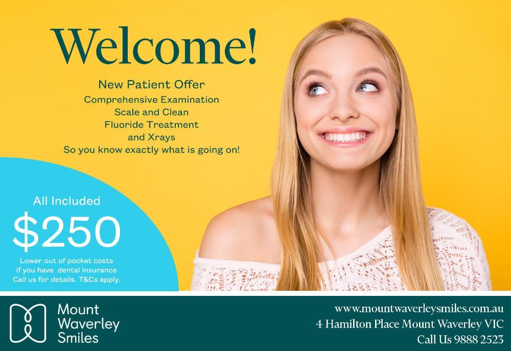 New Patient Offer Flyer